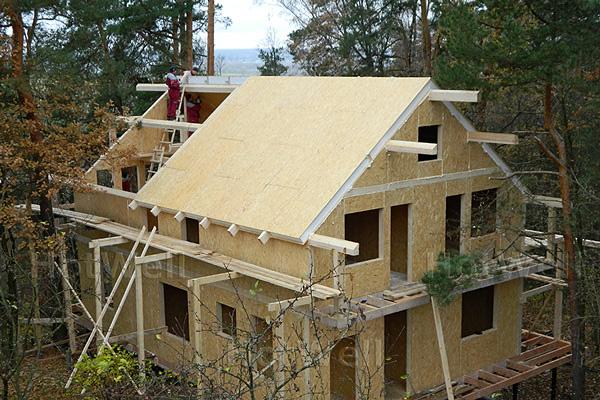 Крыша из СИП панелей: недостатки и преимущества