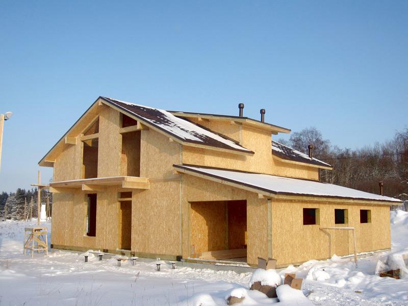 Строительство домов из СИП панелей недорого и надежно