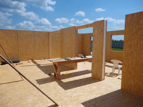 Что такое СИП панели для строительства дома?
