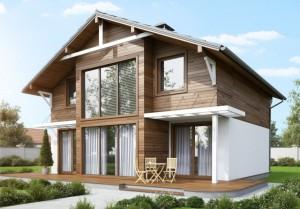 Отделка домов из сип-панелей