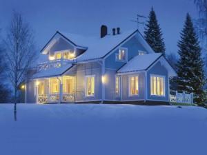 Зимнее строительство СИП дома