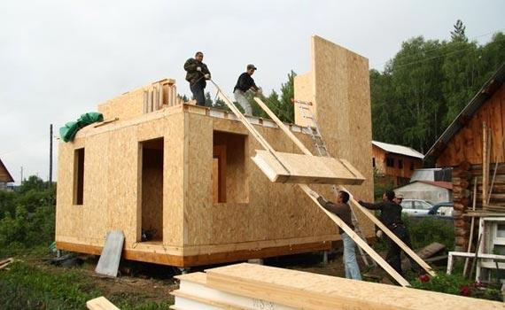 Как строить дом из сип панелей фото
