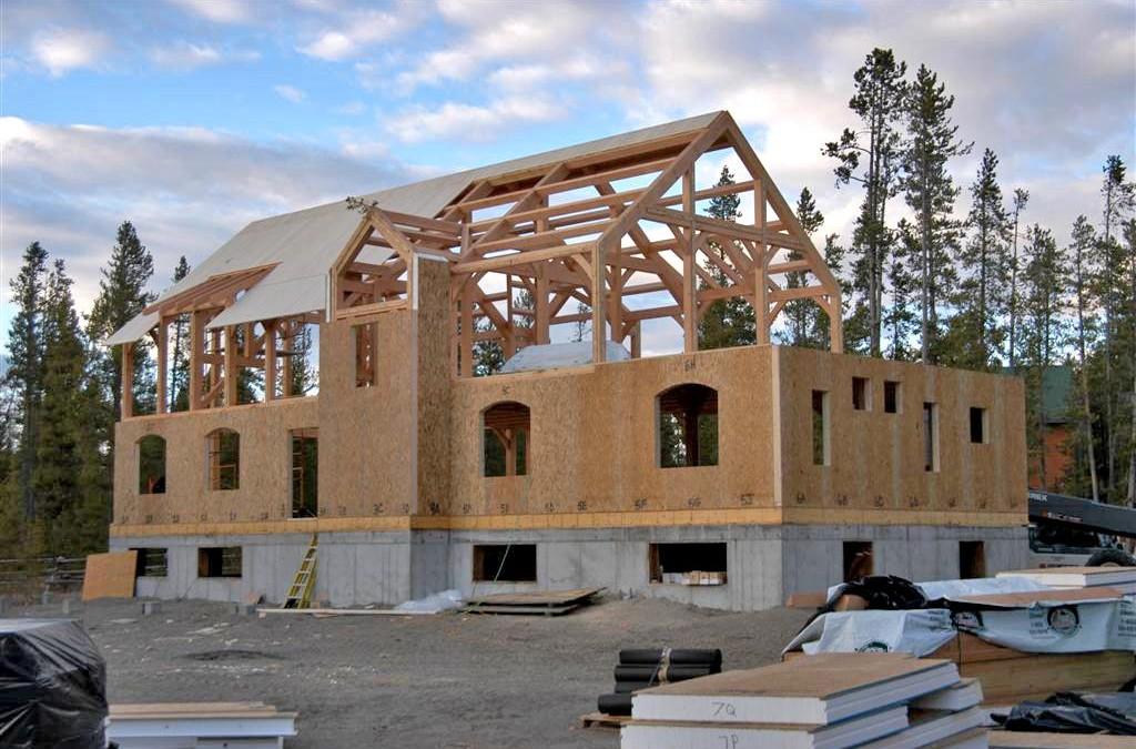 Дом из SIP панелей своими руками. Технология возведения