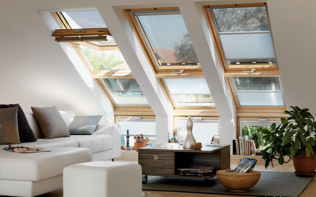 Мансардные окна в домах из СИП панелей