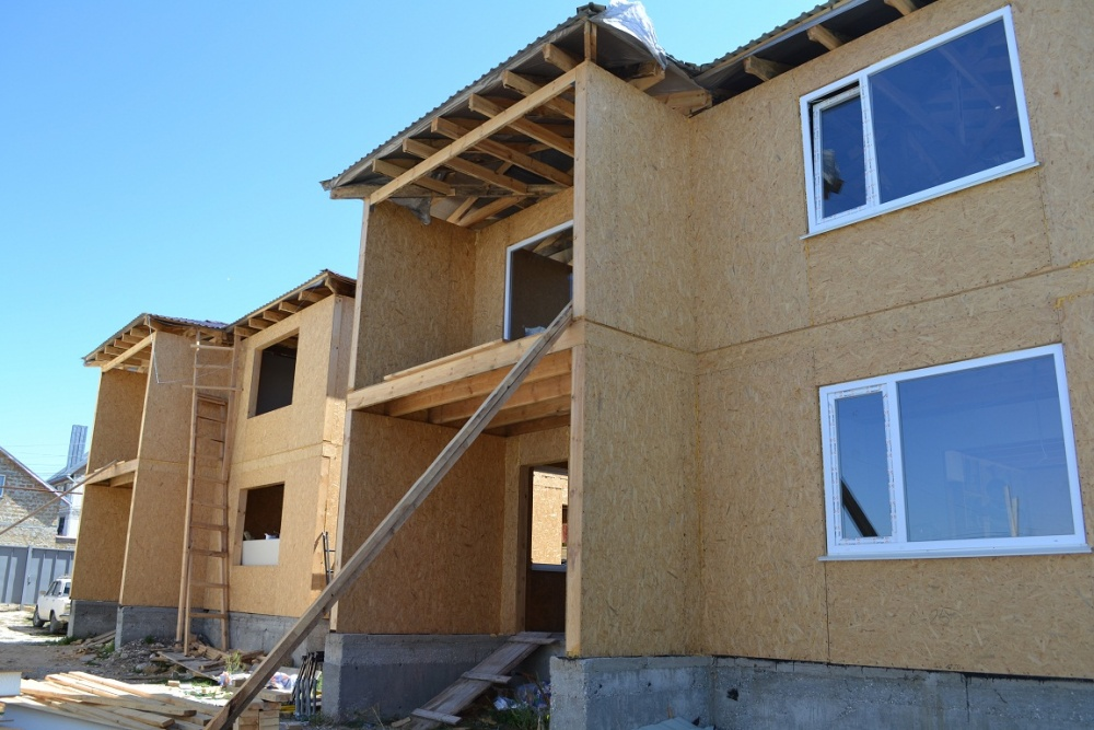 Сроки строительства домов из СИП панелей