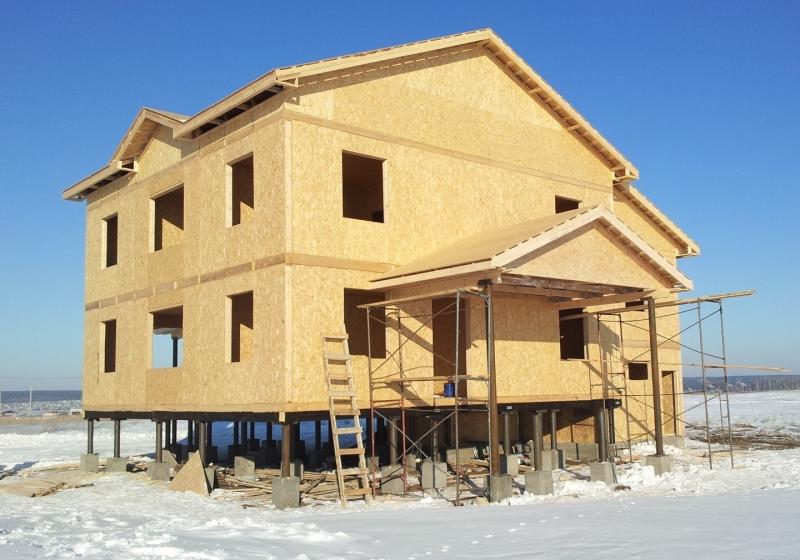Теория сборки домов из СИП панелей