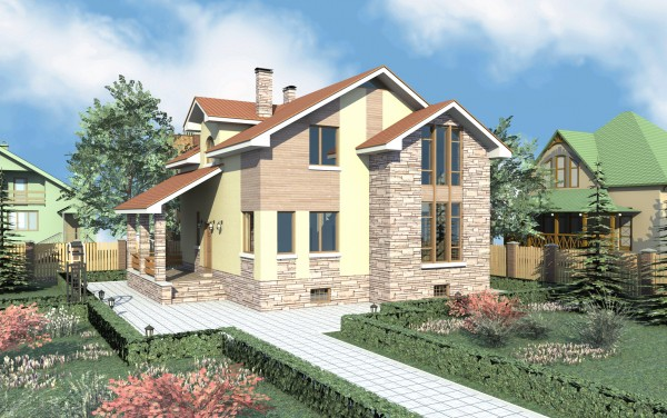 СИП панели: проекты домов под ключ