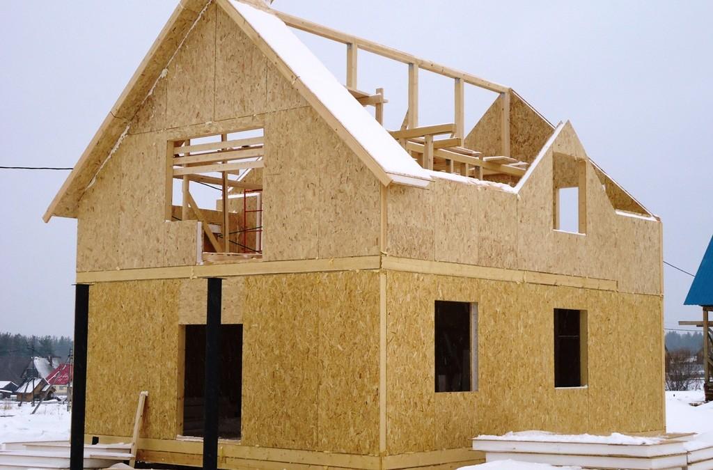 Правильный каркасный дом из СИП панелей