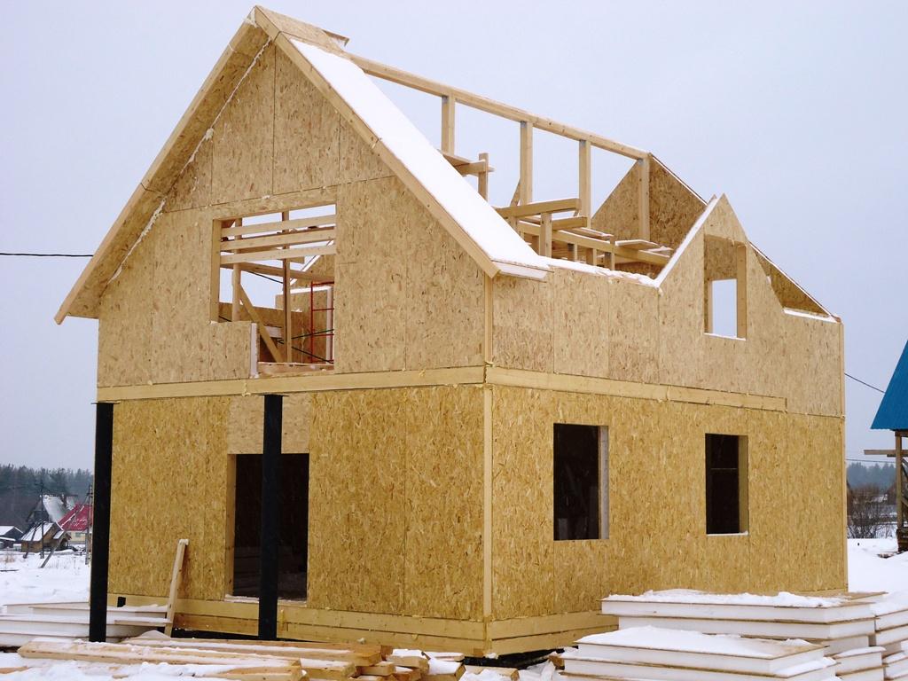 Построить дом своими руками из панелей