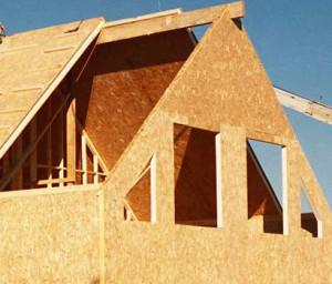 Cтроительство домов из сип панелей - крыши