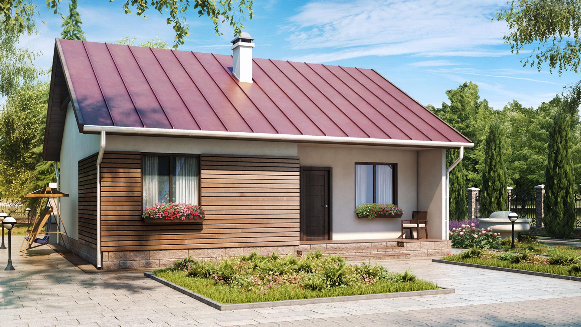 Готовые проекты домов из СИП панелей