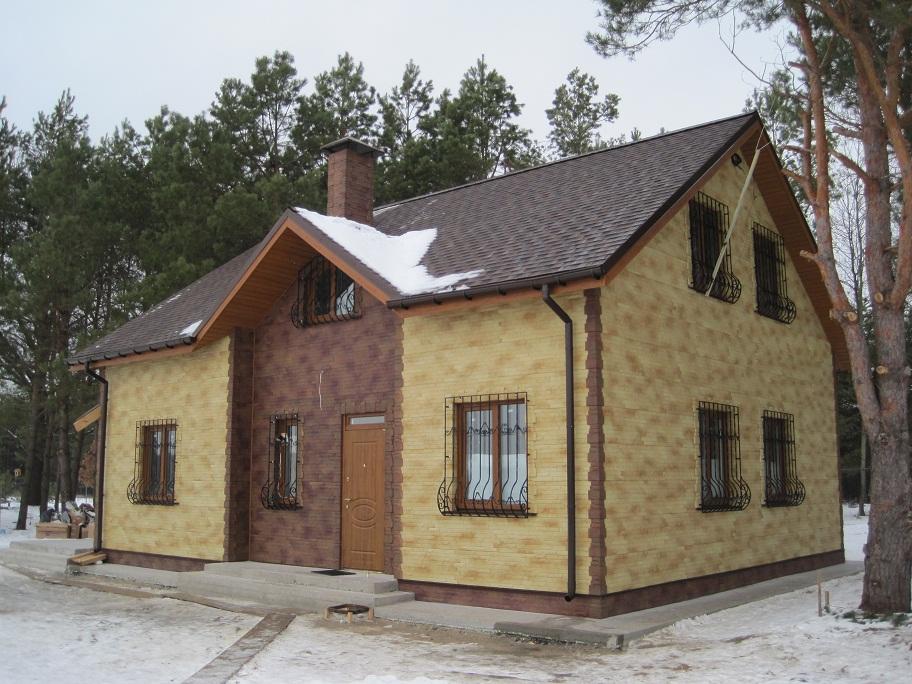Дом из сип панели под ключ фото