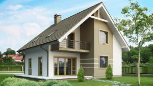 Мансарда или полноценный этаж? Дома из СИП панелей под ключ цены