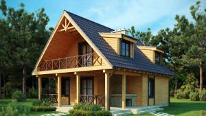 Современные СИП дома цена под ключ