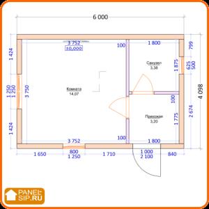 Схема комнат «Дом Соло»