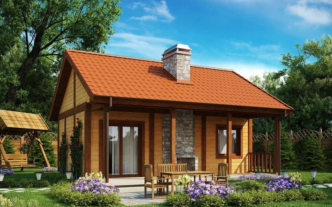 Небольшие дома из СИП панелей проекты