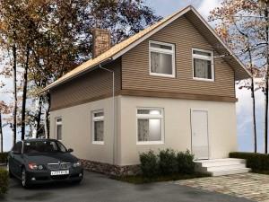 проекты домов из панелей
