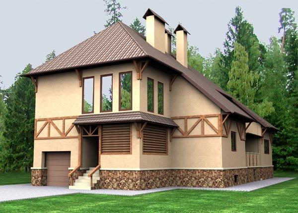 СИП дома недорогие. Утепленные дома