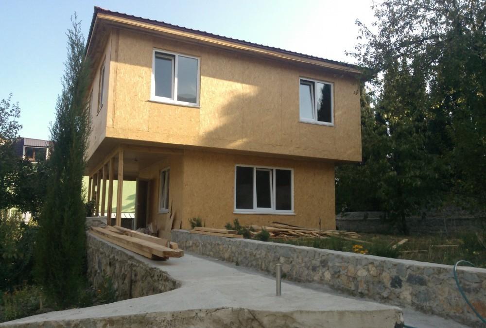 Устройство каркасно-щитового дома. Дом из СИП панелей цена