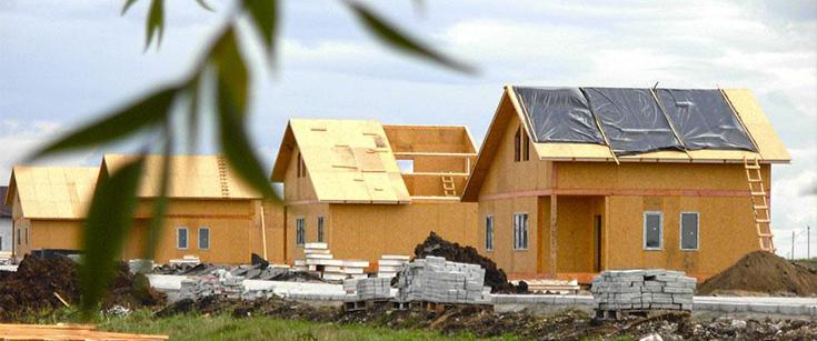 Новые технологии. Недорогие дома из СИП панелей под ключ