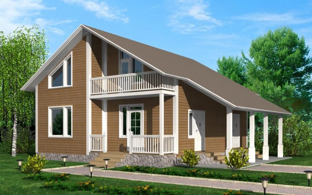 Проекты домов под СИП панели. Преимущества применения для строительства