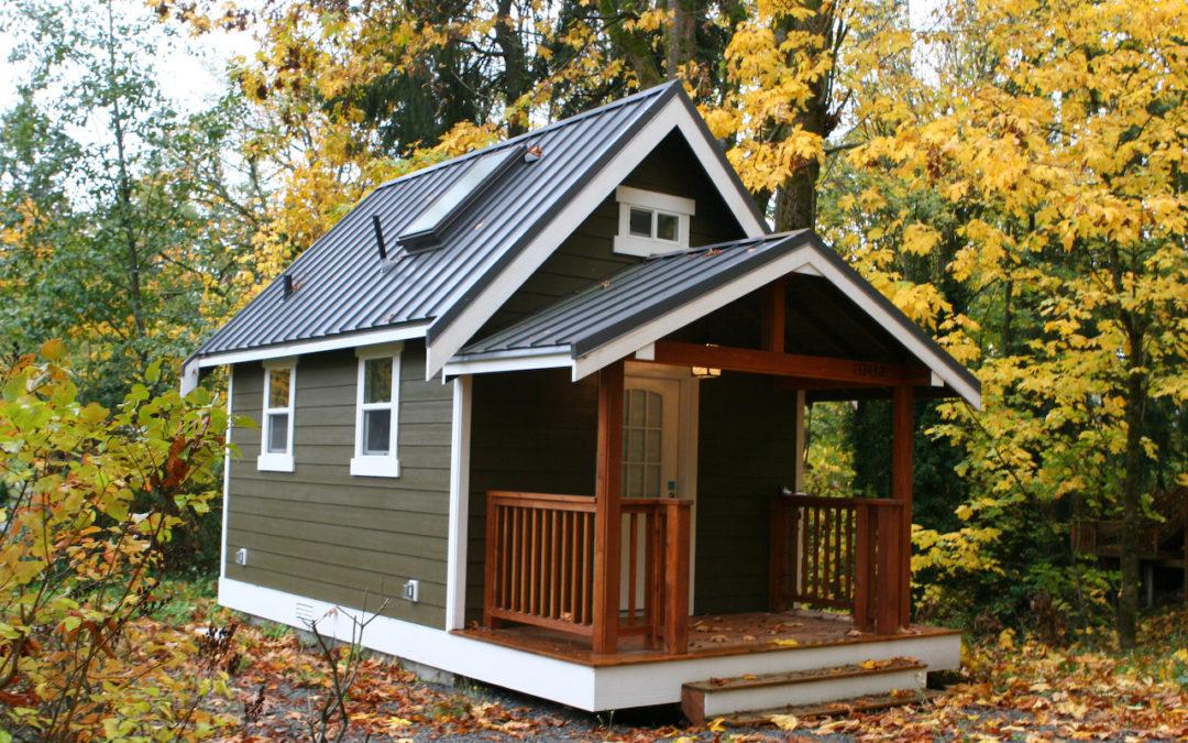 Загородный теплый SIP дом для двоих