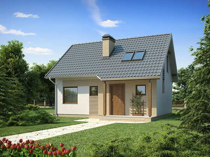 Двухэтажные дома 70 кв.м из СИП панелей