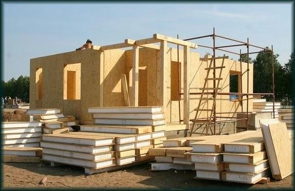 Cтроительство домов из sip по канадской технологии
