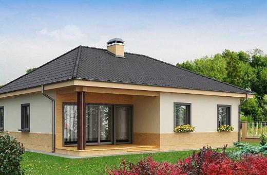 Загородный дом 6х4 из СИП панелей — доступно и престижно