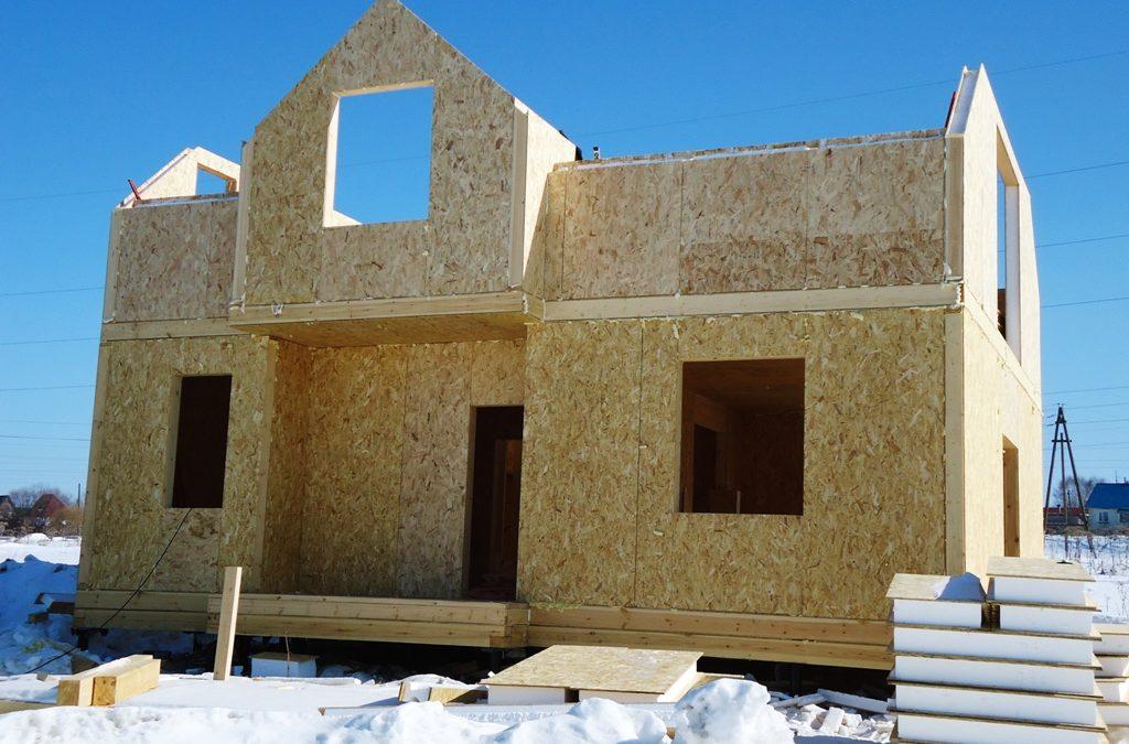 Строительство дома из SIP-панелей недорого