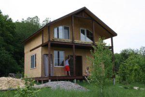 Цена строительства дома из СИП