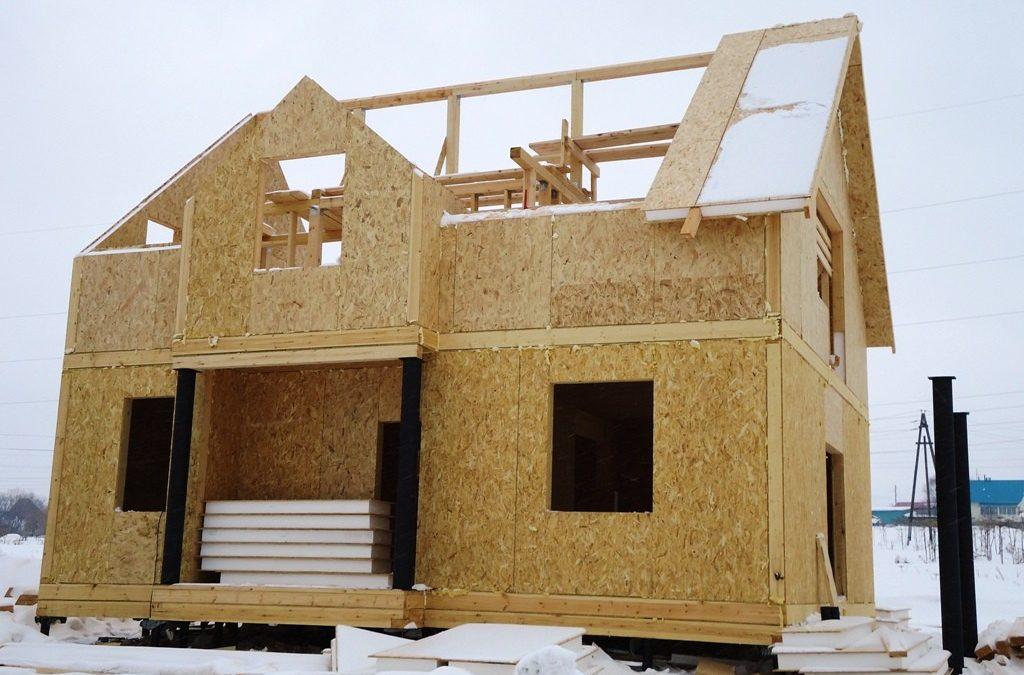 Дома из СИП панелей. Особенности строительства.