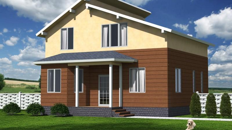 Чем обшить дом из СИП панелей снаружи? Материалы для отделки