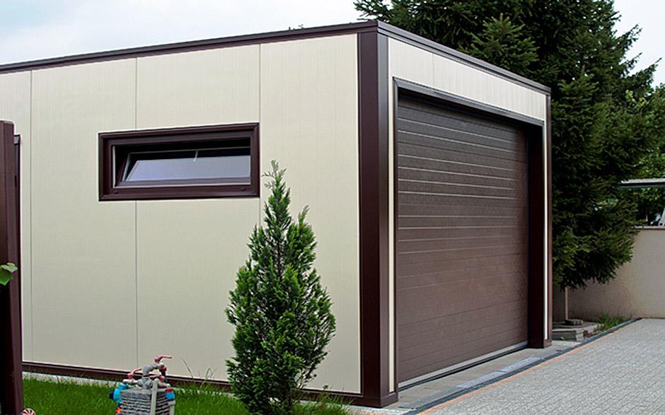 Как построить гараж из СИП панелей?