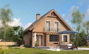 Современные дома из СИП панелей проекты