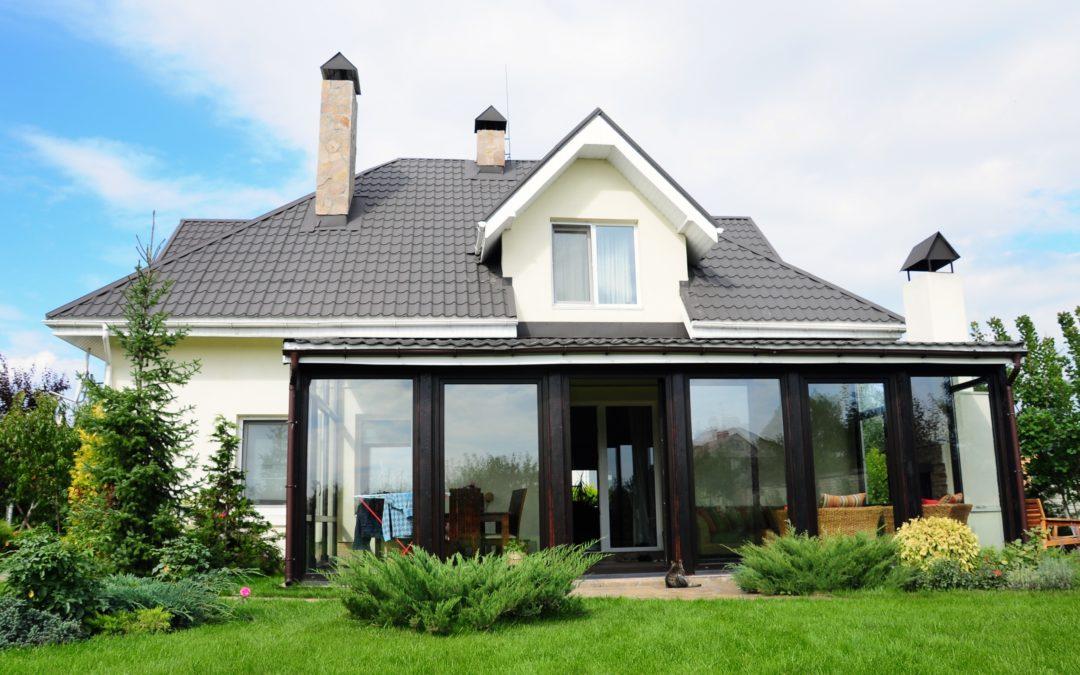 Современный дом из СИП-панелей