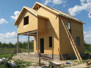 Строительство домов из СИП-панелей. Особенности материала