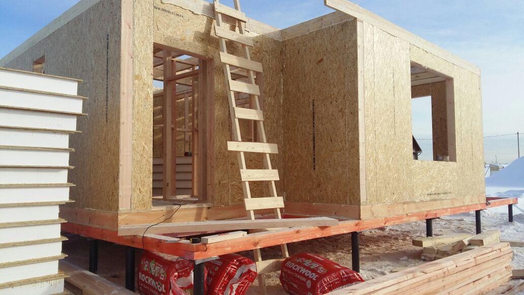 Строительство дома из панелей СИП