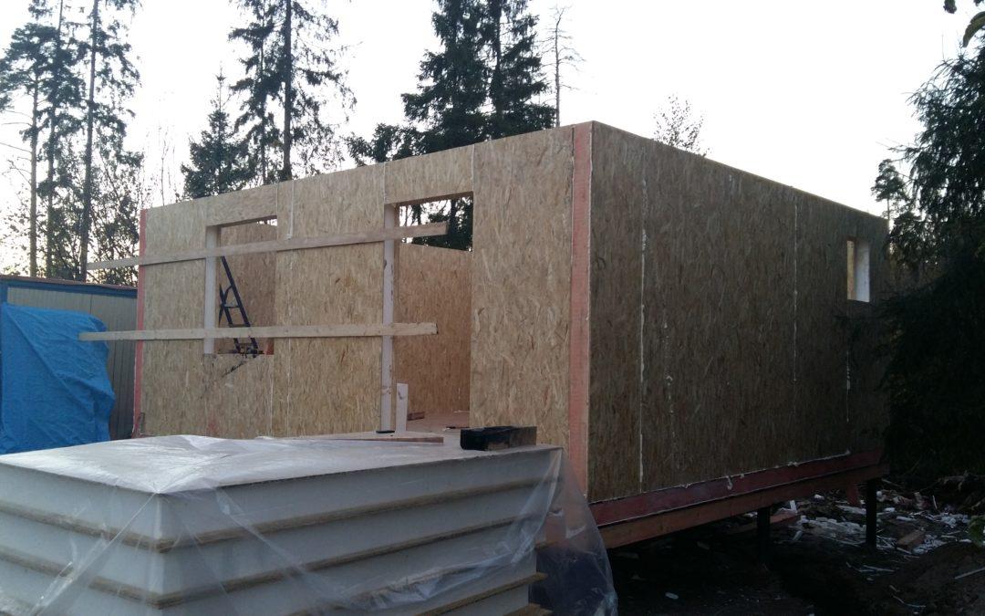 Строительство под ключ СИП дома «Дуэт»