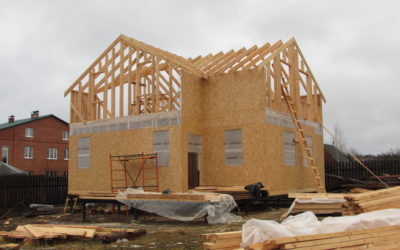 Строительство каркасного дома из СИП