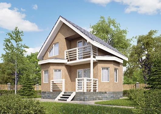 Эко дом из СИП-панелей