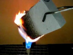 Пенополистирол для СИП панели и огонь