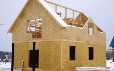 Построить дом из СИП панелей за три недели