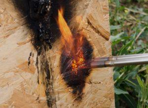 Пожароопасность СИП панелей