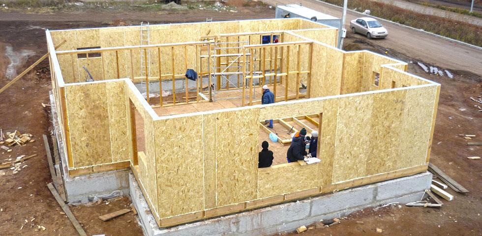 Строительство домов из СИП-панелей при минимальных затратах