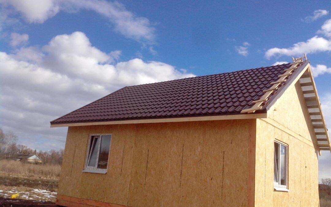 Строительство дома «Трио» из СИП панелей