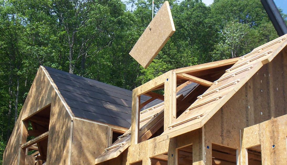 Крыша из сип панелей. преимущества.