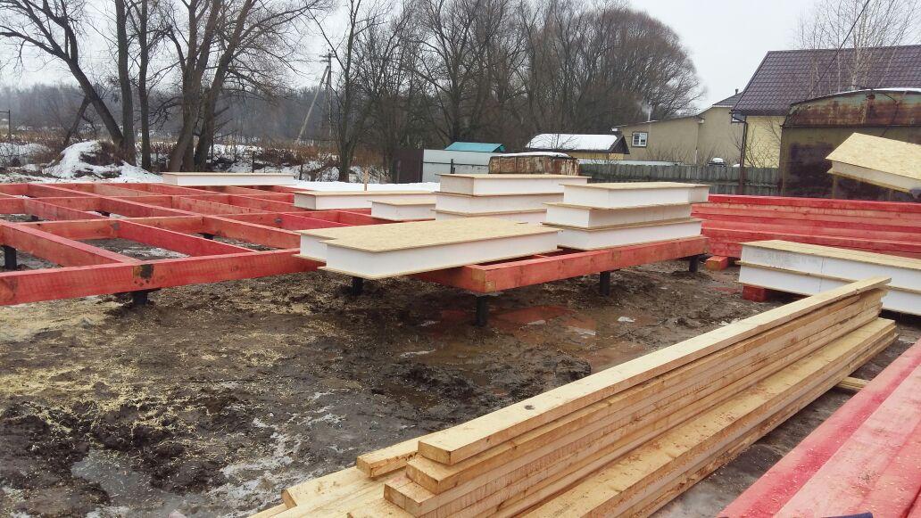 Строительство СИП-панельного дома