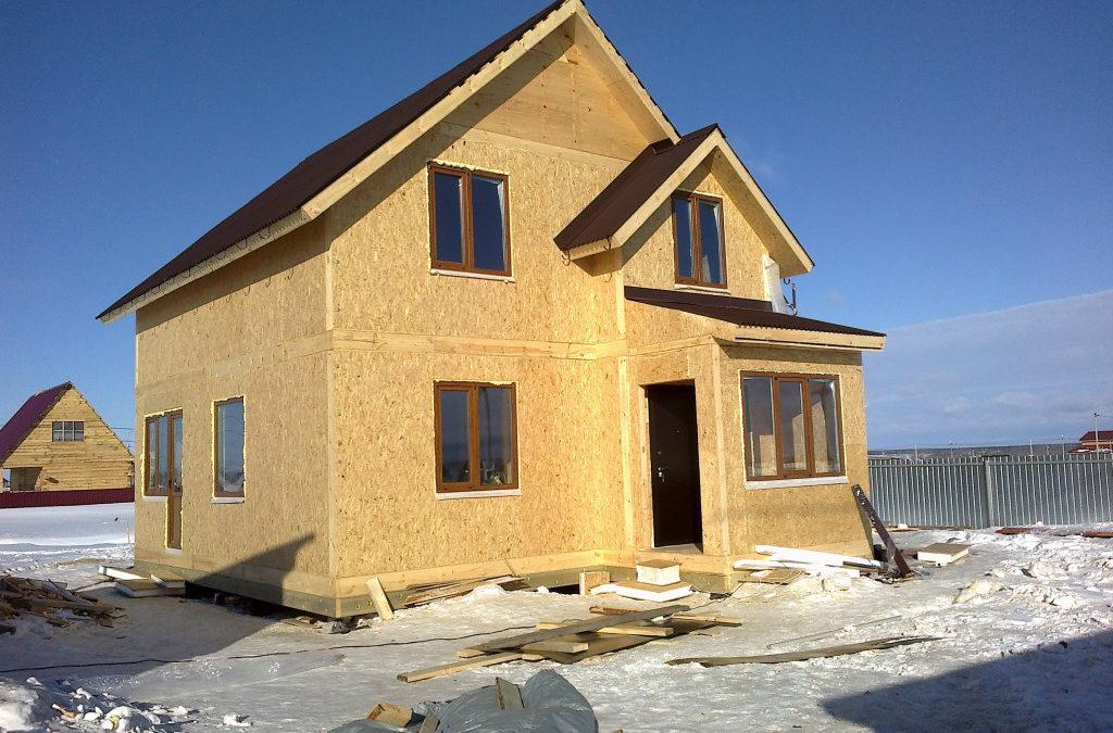 Достоинства и недостатки домов из СИП панелей