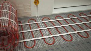 Электрический теплый пол в доме из СИП панелей